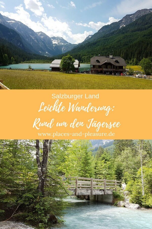 Rund um den Jägersee. Leichte Wanderung im Salzburger Land vor traumhafter Bergkulisse mit Einkehrmöglichkeit. Geeignet für Wanderanfänger. #SalzburgerLand #Wandertipp #Berge