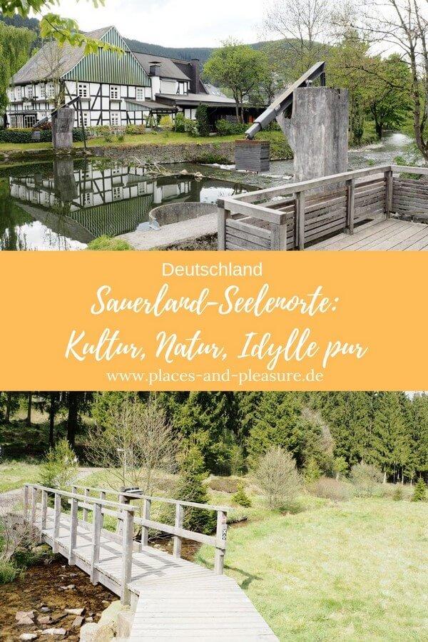 Werbung|Bloggerreise // Werbung|Bloggerreise // Kraft tanken an besonderen Orten. Sauerland Seelenorte, die perfekt dafür geeignet sind, stelle ich dir vor. Kultur, Natur und Hoteltipp. #Sauerland #Wandern #Reisetipp #BlogwärtsRetreat