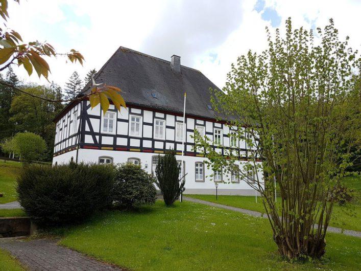 Fachwerkhaus des Pastorats in Wormbach
