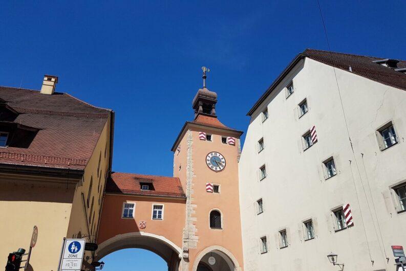 Brückturm-Museum an der Steinernen Brücke in Regensburg