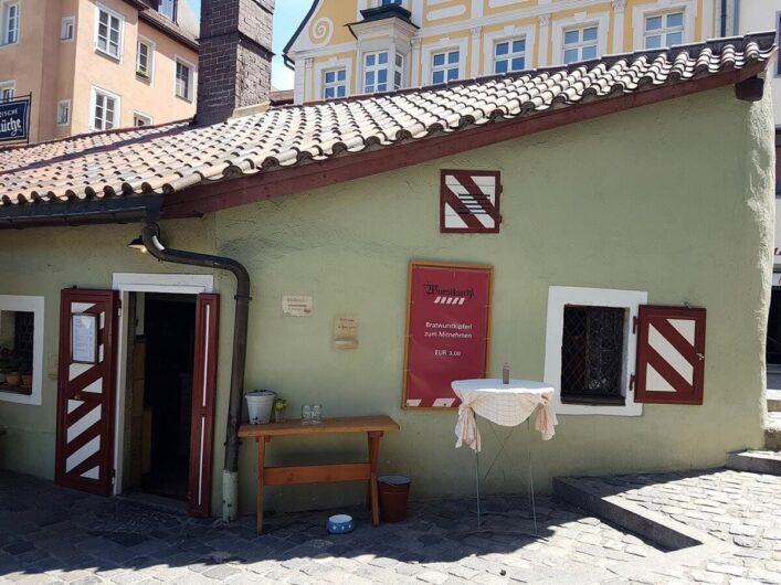 Historische Wurstkuchl in Regensburg