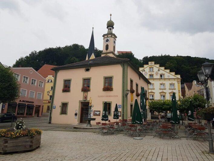 Marktplatz von Riedenburg