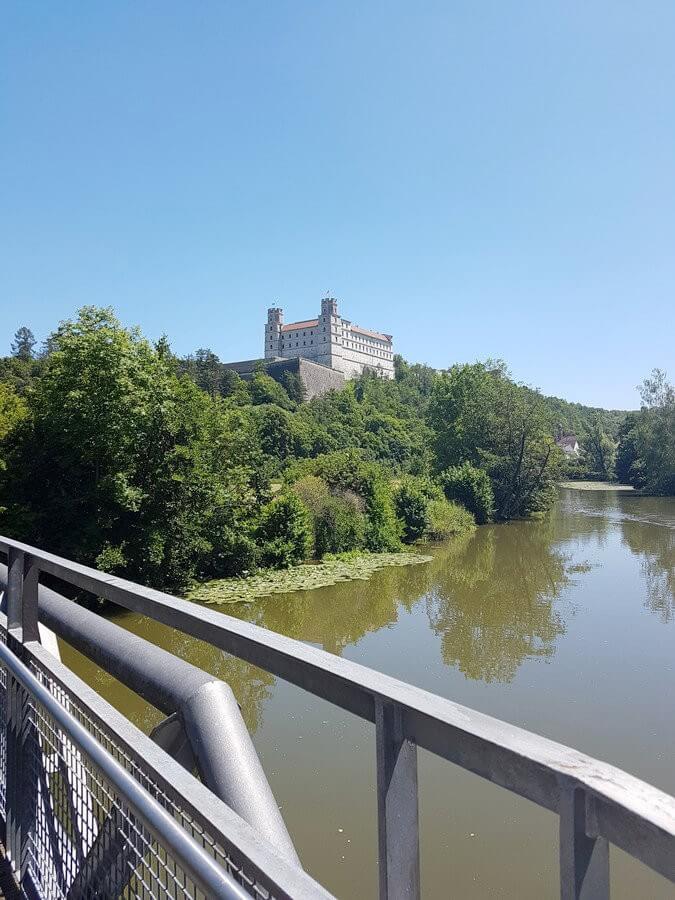 Willibaldsburg hoch über der Altmühl und Eichstätt