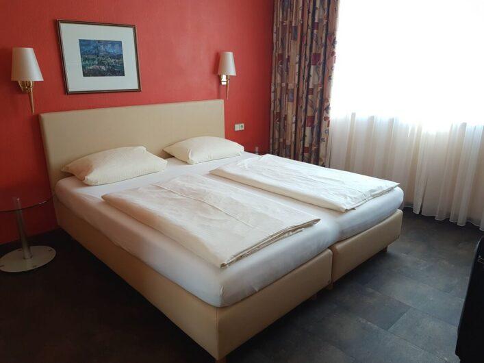 Doppelzimmer im Hotel Goldenes Fass in Rothenburg ob der Tauber