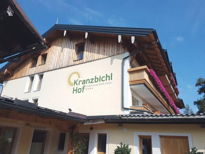 Blick auf das 4-Sterne-Hotel garni Kranzbichlhof