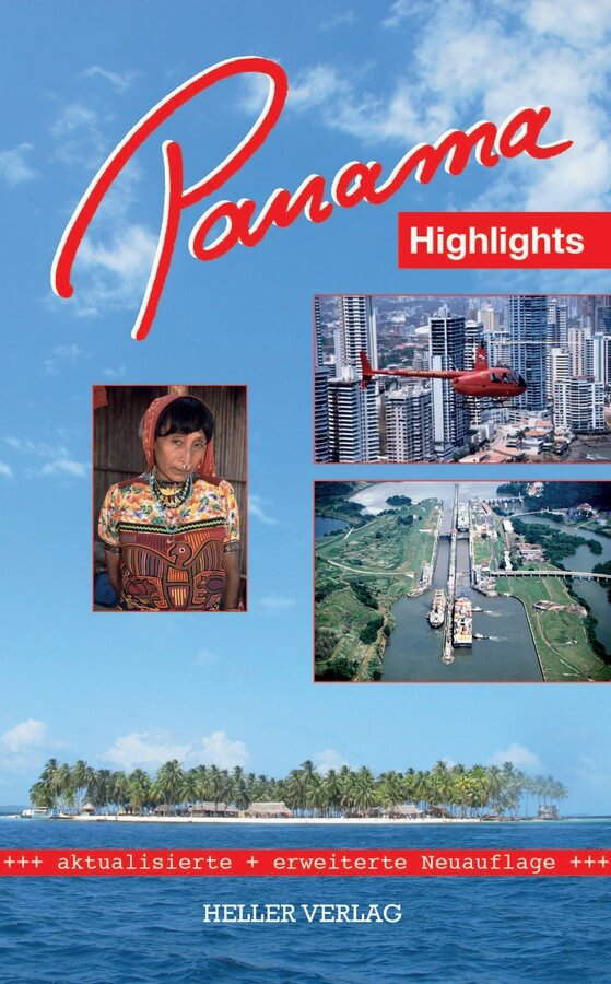 Cover des Reiseführers aus dem Heller Verlag - Panama Highlights