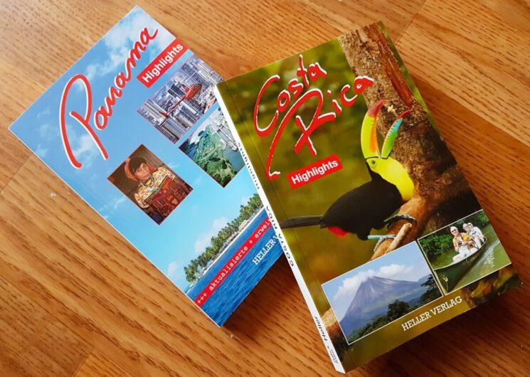 2 Reiseführer aus dem Heller Verlag - Costa Rica Highlights und Panama Highlights