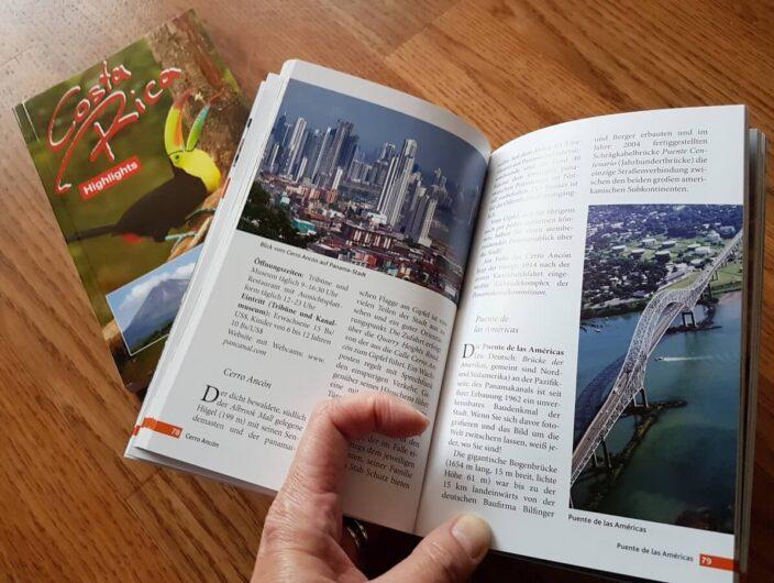 Durchblättern des Reiseführers Panama Highlights