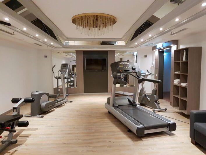 Fitnessraum im Maritim Hotel München