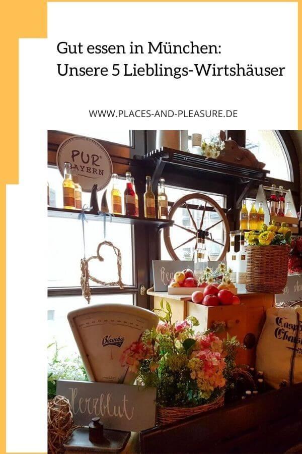 Gut essen in München. Ich verrate dir, wo du echt bayerische Küche genießen kannst. Von herzhaft bis deftig – und immer lecker. #Food #Restauranttipp #Bayern #München