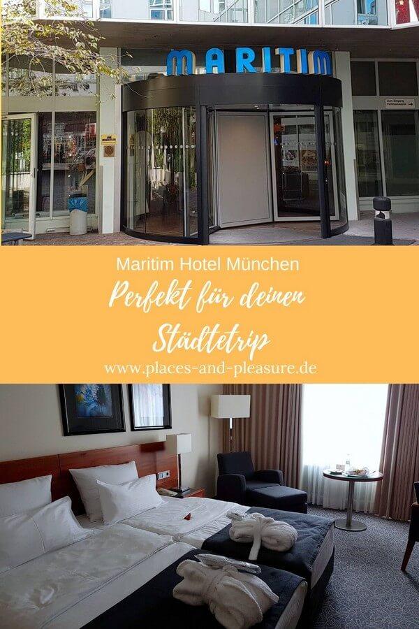 Werbung|Bloggereinladung // Zentral gelegen ist das Maritim Hotel München der perfekte Standort für eine Städtereise in die bayrische Landeshauptstadt. Moderne Zimmer, kulinarische Highlights. #München #Hoteltipp #Städtereise