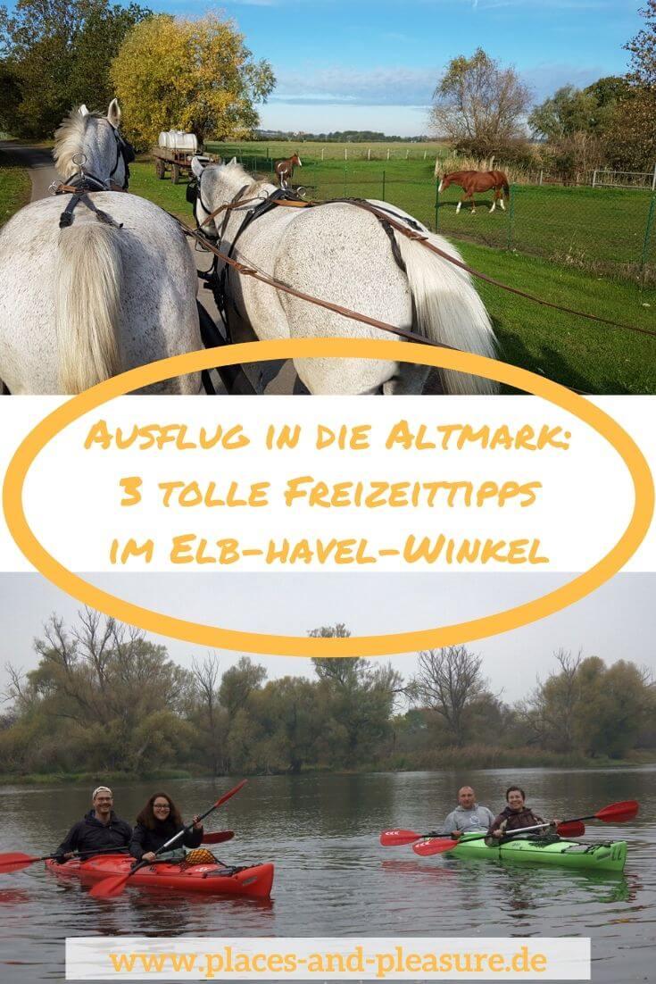Werbung | Gar nicht so weit von Berlin entfernt, liegt der Elb-Havel-Winkel. Noch ziemlich unbekannt hat diese Region in der Altmark Einiges in Sachen Freizeitaktivitäten zu bieten. Was du dort Schönes unternehmen kannst, erfährst du bei mir im Beitrag. #ElbHavelWinkel #Altmark #Freizeitspione #Reisen #Ausflugstipp