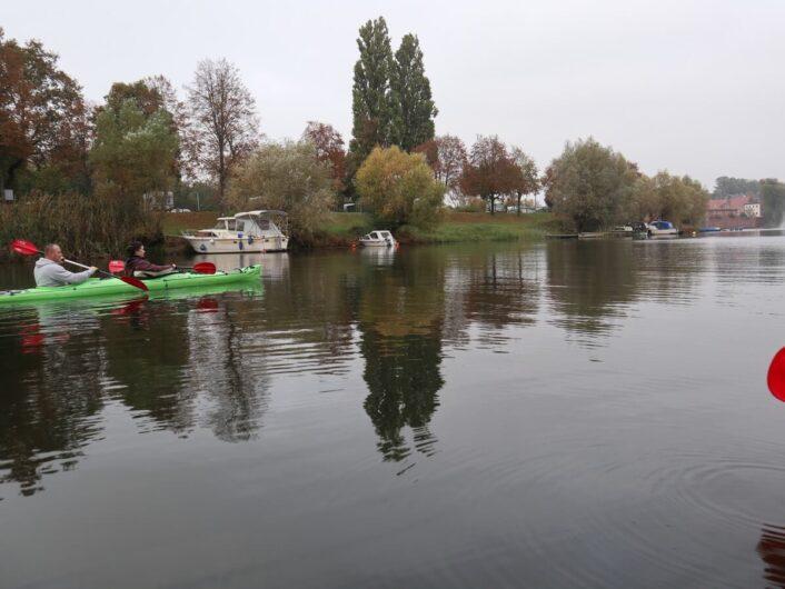 im Kanu auf der Havel