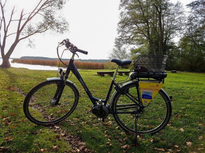 E-Bike am Scharmützelsee