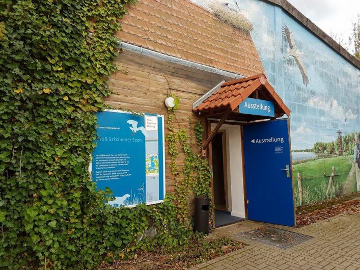 Eingang zur Sielmann Ausstellung
