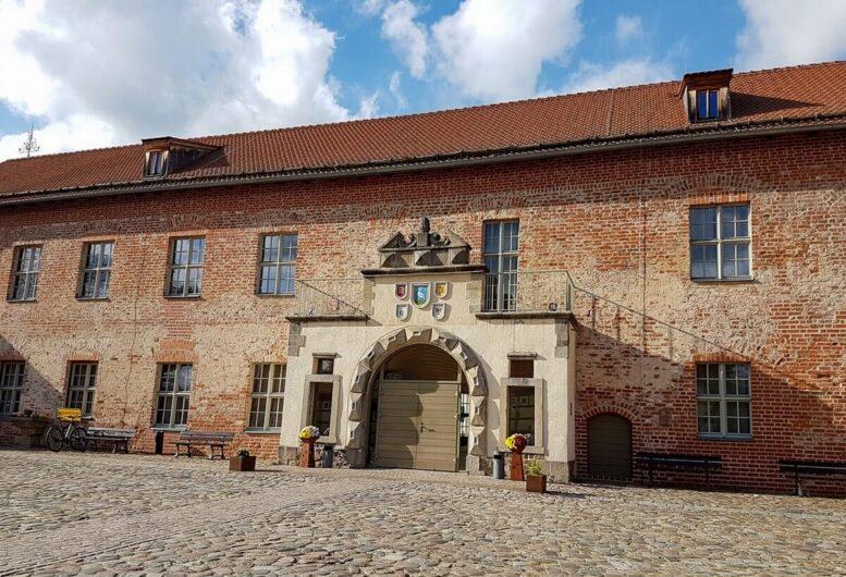 Gebäudeteil von Burg Storkow
