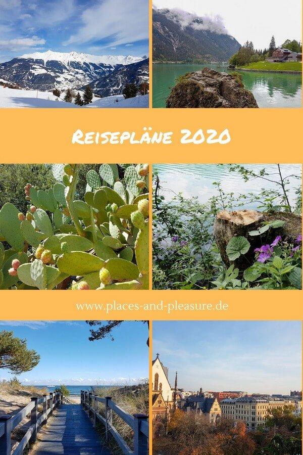 Meine ersten Reisepläne 2020 stehen fest – von Winterurlaub bis Sommerreise. Wie sieht es bei dir aus? Lass dich gerne bei mir inspirieren. #Reisen #Reiseinspiration