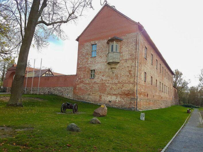 Blick auf Burg Storkow