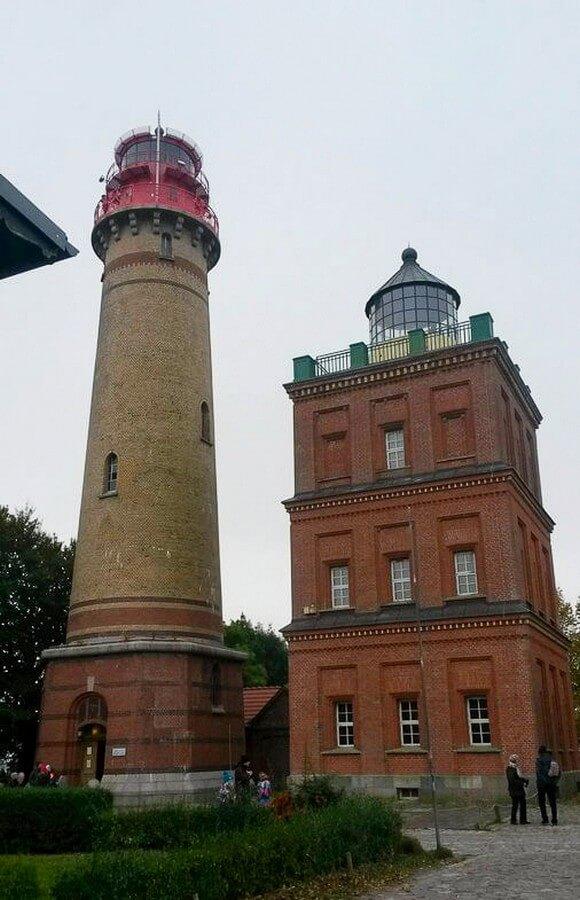 Schinkelturm und neuer Leuchtturm