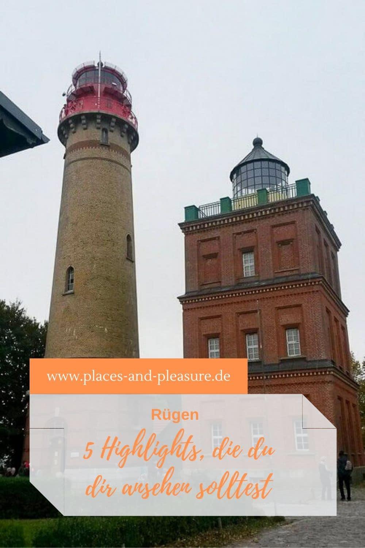 Rügen - sogenannte Badewanne der Berliner und zu jeder Zeit eine Reise wert. 5 Tipps, was du dir auf der Insel anschauen solltest, erfährst du hier. #Rügen #Reisen #Kurzurlaub #Ostsee