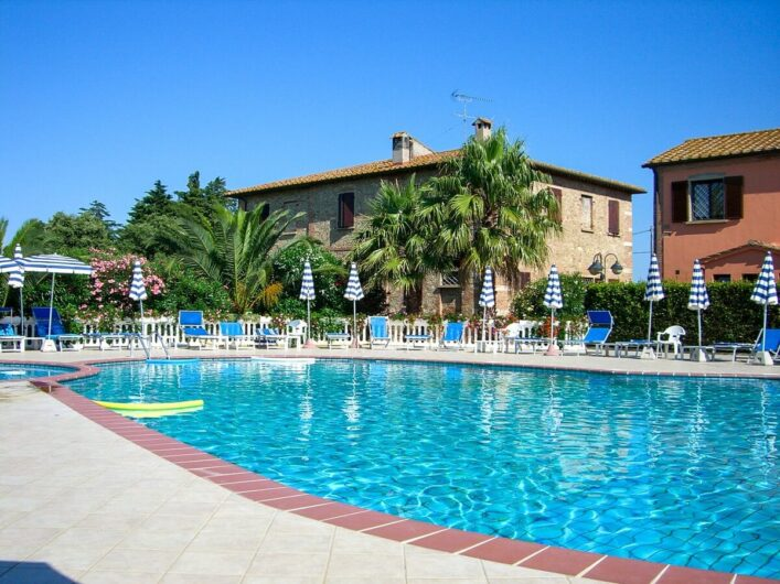 Pool am Agrihotel Elisabetta