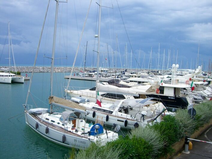 Marina in der Toskana