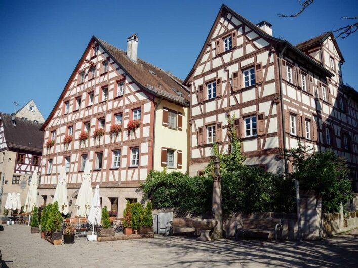 Fachwerkhäuser in Altdorf bei Nürnberg