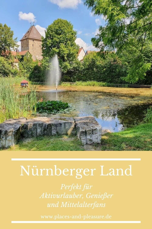 Werbung|Bloggerreise // Das Nürnberger Land entdecken heißt: Wandertouren, kulinarische Highlights, Burgen und malerische Fachwerkstätte erleben. #NürnbergerLand #Urlaub #Deutschland #Reisetipp