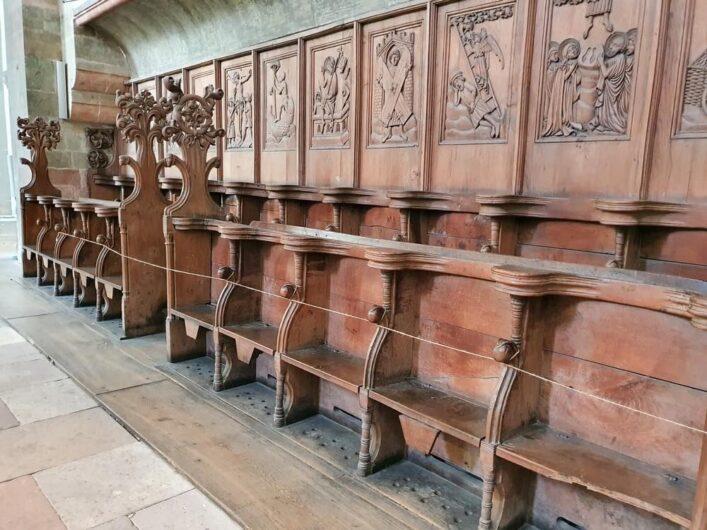 Chorgestühl des Merseburger Doms