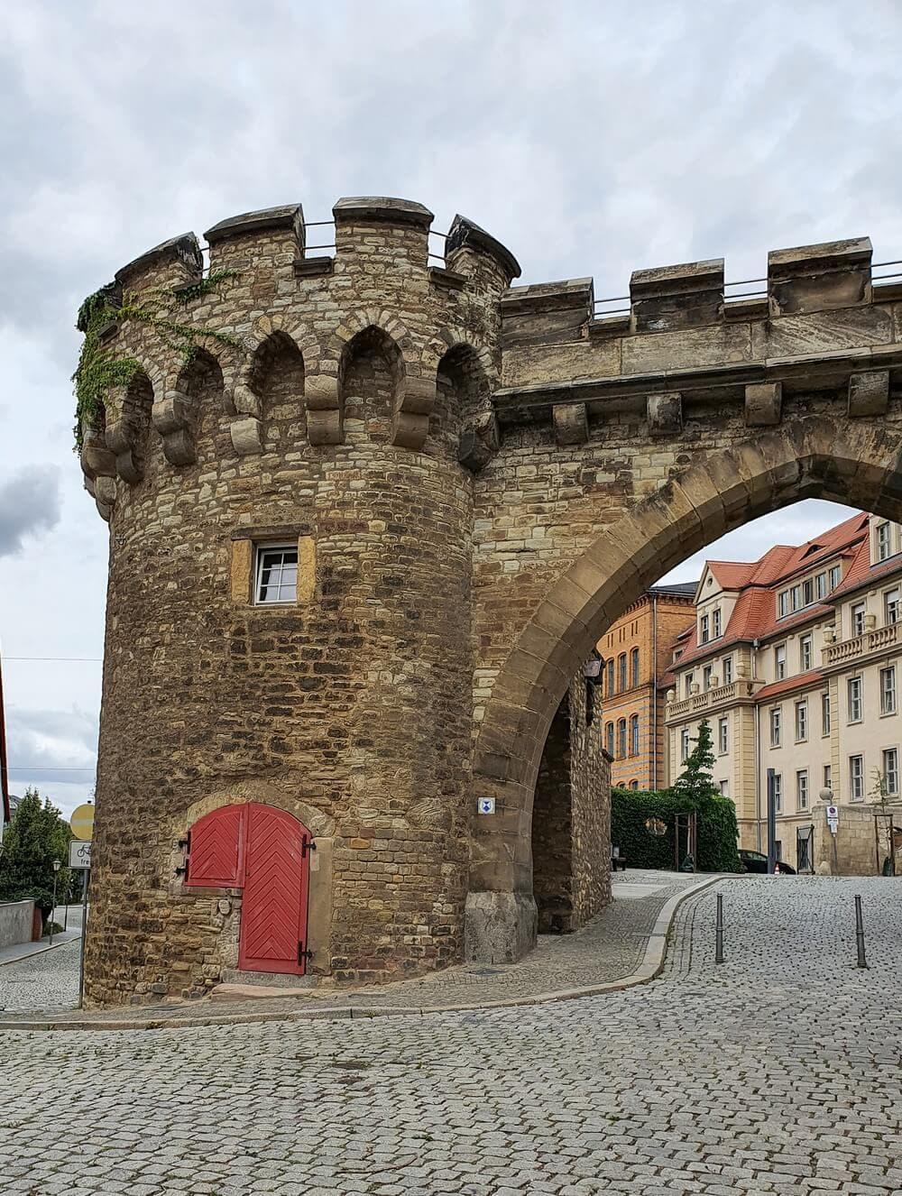 das Krumme Tor in Merseburg