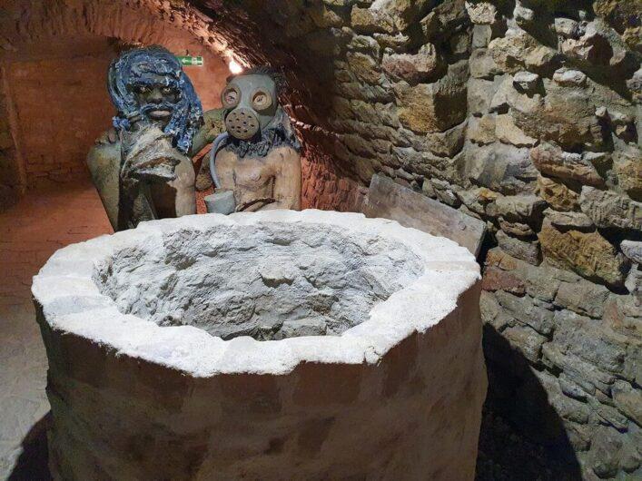 Kunst am Brunnen im Tiefen Keller Merseburg