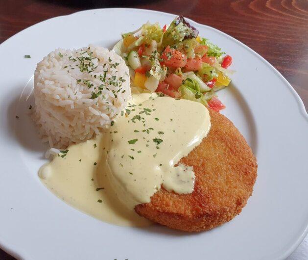 Lunch im Restaurant ben zi bena Merseburg