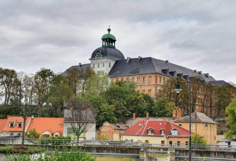 Blick auf Schloss Neu-Augustusburg in Weißenfels