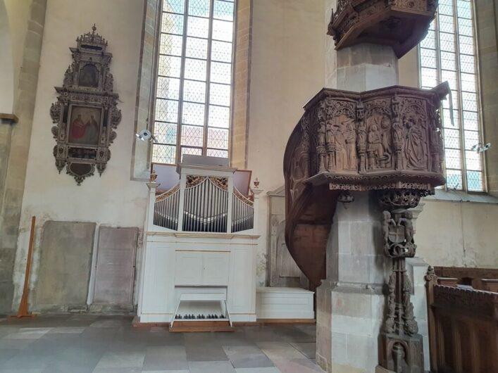 kleine Orgel im Merseburger Dom