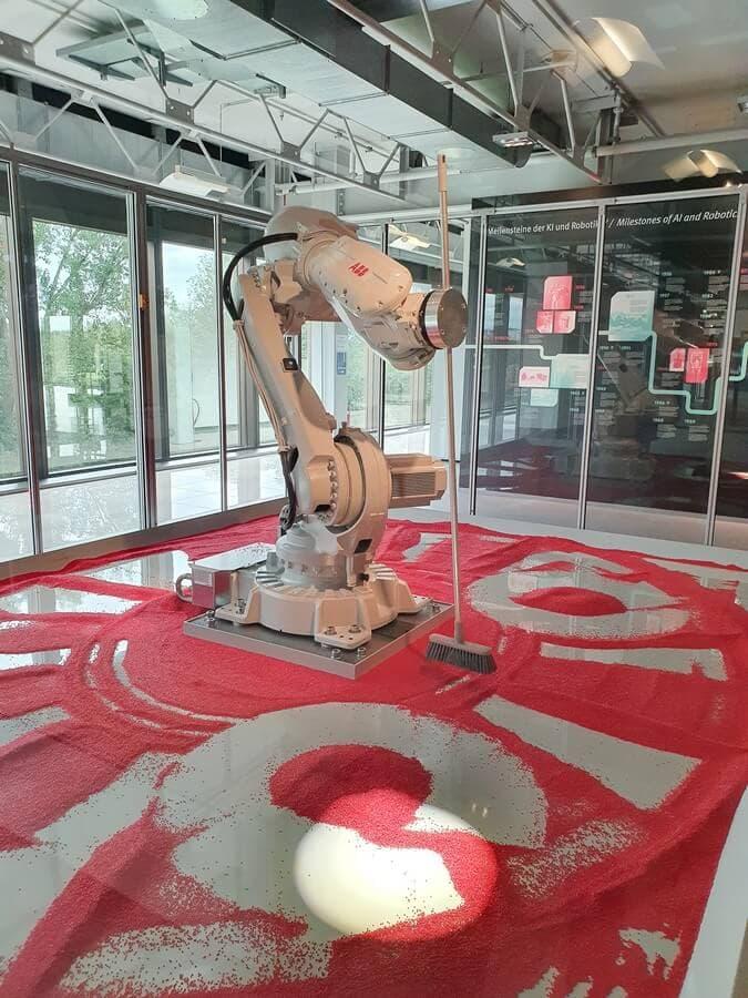 kehrender Industrieroboter Beppo