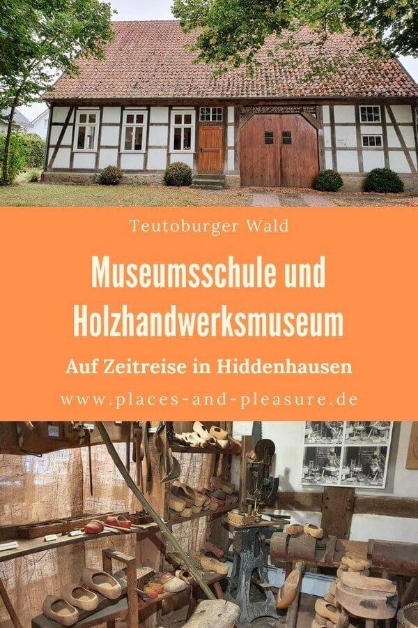 Werbung // Werbung // Auf Zeitreise im Teutoburger Wald: Schule wie vor 150 Jahren und altes Holzhandwerk erleben. #Reisetipp #NRW #Museum #TeutoburgerWald