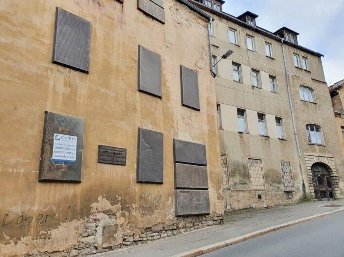 Geburtshaus von Otto Baensch in Zeitz