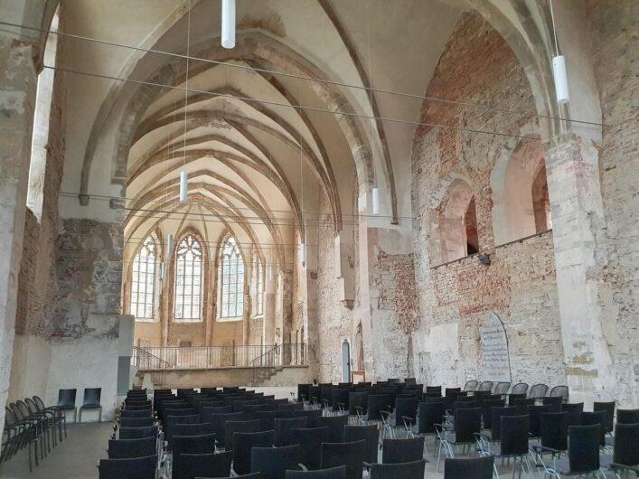 Innenraum des Franziskanerklosters