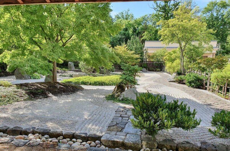 Japanischer Garten im Schlosspark Moritzburg