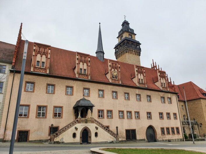 Rathaus der Residenzstadt Zeitz