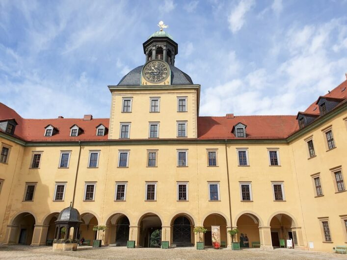 Hauptgebäude von Schloss Moritzburg
