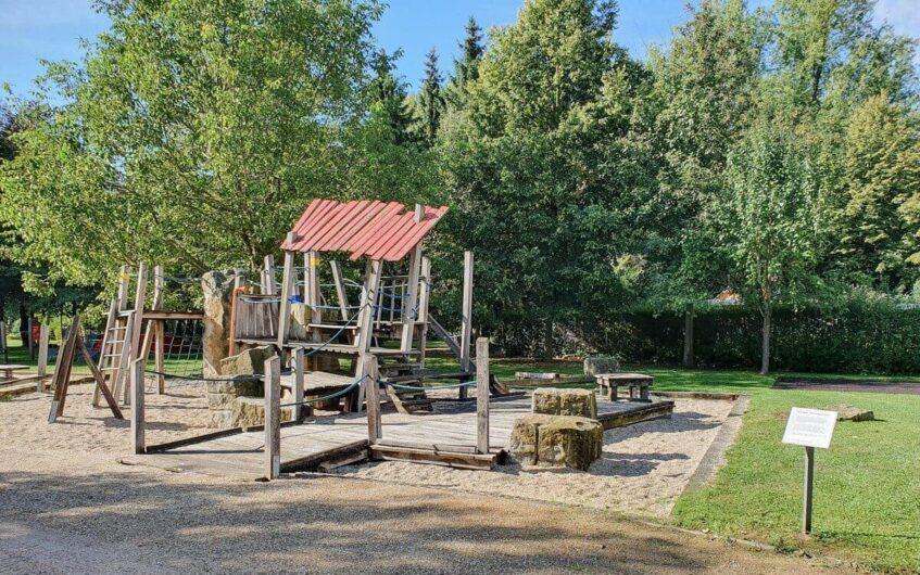 Spielplatz im Schlosspark Zeitz