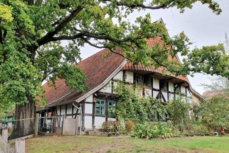 Fachwerkhaus des Storchenmuseums Petershagen