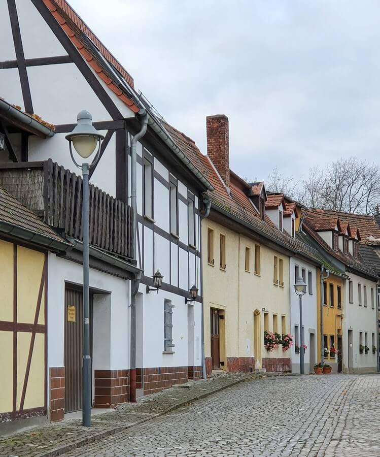 Teil der Altstadt von Zeitz
