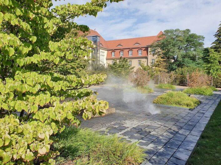 Sprühnebel im Lustgarten der Gartenträume