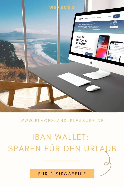 Werbung | Mit höheren Zinsen der Reisekasse einen Anschub geben. Sparen für den Urlaub auf P2P-Plattform Iban Wallet. Für Risikoaffine.