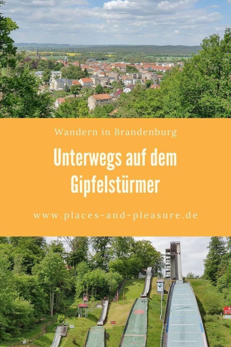 Werbung | 4 Türme, Skisprungschanzen und die Hügel der Märkischen Schweiz erwarten dich zwischen Falkenberg und Bad Freienwalde. Alle Infos zur Wanderung.