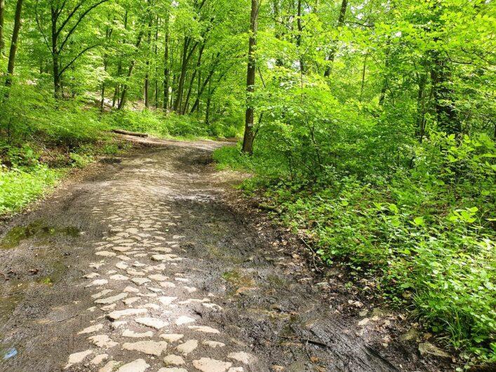ein paar Steine auf dem Gipfelstürmerweg