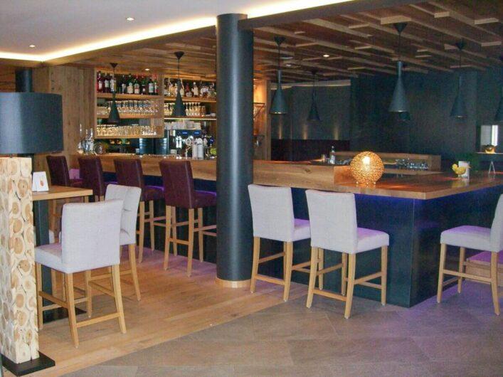Bar vom Hotel Sunnwies in Schenna