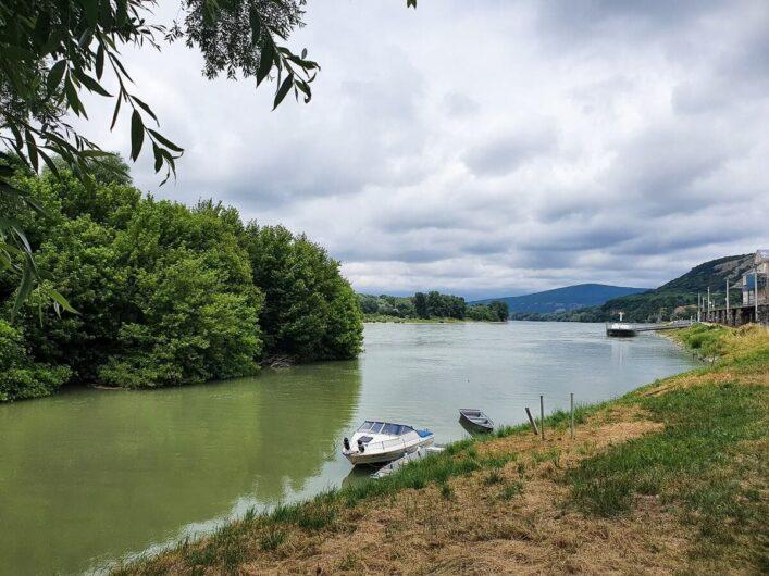 Die Donau bei Bad-Deutsch Altenburg